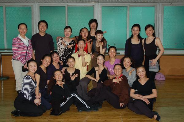 2007年3月举办中国舞协少儿爵士舞教师培训班(照片)